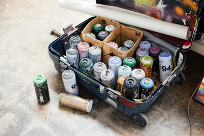 How to Not Spray Paint?